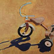 Vintage Tricycle Poster