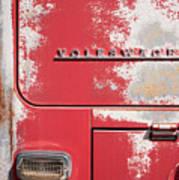 Vintage Volkwagen Emblem Poster
