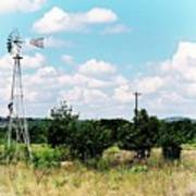 Vintage Windmill Poster