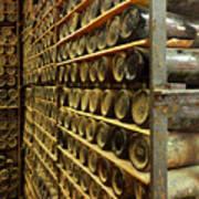 Vintage  Wine Bottles Poster