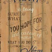 Vintage Wtlb Faith Poster