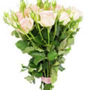 Garden Roses Bouquet Poster