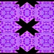 Violet Haze Abstract Poster