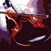 Violin Artistic Poster