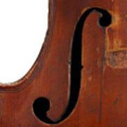 Violin Clef Poster