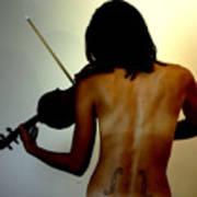Violin Intensive Poster by Steven  Digman