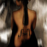 Violin Lady 05 Poster