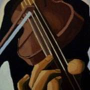 Violin Player Poster