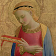Virgin Annunciate Poster