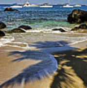 Virgin Gorda Beach Poster