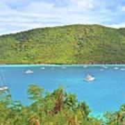 Virgin Island Getaway Poster