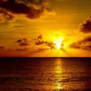 Virgin Islands Sunset Poster