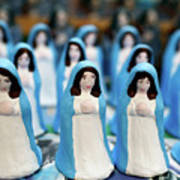 Virgin Mary Figurines Poster
