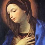 Virgin Of The Annunciation Poster