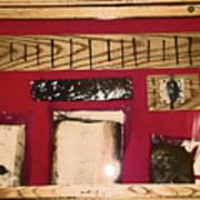 Virginia Dale - Burn Relics In Red Poster