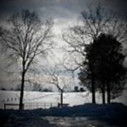 Virginia Snow Poster by Joyce Kimble Smith