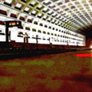 Virginia Square Metro II Poster