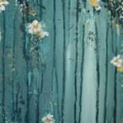 Viridian Bloom Poster