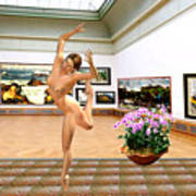 Virtual Exhibition - Dacanvasncing Girl Poster