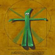 Virtuvian Man Poster