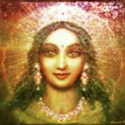 Vision Of The Goddess  Poster