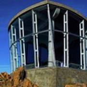 Visitor Center Atop Mt. Wellington Poster