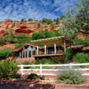 Visitor Center Best Friends Animal Sanctuary Angel Canyon Knob Utah 02 Poster