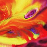 Vivid Abstract Vibrant Sensation Iv Poster