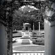 Vizcaya Garden Poster