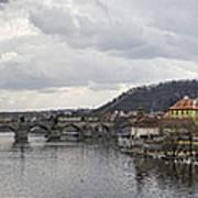 Vltava River Scene Poster