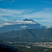 Volcan De Agua Antiqua Gutemala 5 Poster