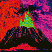 Volcano D5b Poster