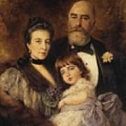 Volkov Manzei Family Makarov. 1890 Poster