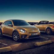 Volkswagen Beetle Dune 4k 2 Poster
