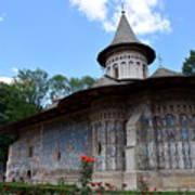 Voronet Monastery Poster