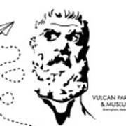 Vulcan's Airplane Poster
