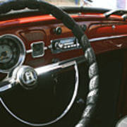 Vw Beetle Interior Poster