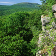 Wachusett Mountain From Crow Hill Poster
