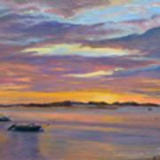 Wades Beach Sunset Poster