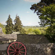 Wagon Wheel County Clare Ireland Poster