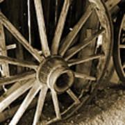Wagon Wheels 3 Poster