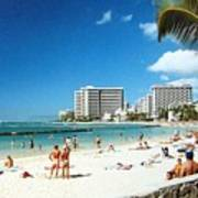 Waikiki Beach Poster