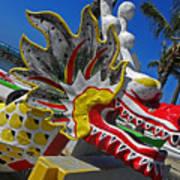 Waikiki Dragon Poster