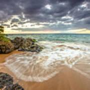 Wailea Sunset From Maui Poster
