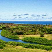 Wailua River Poster