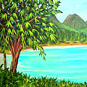 Waimanalo Beach Oahu #385 Poster