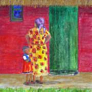 Waiting In Zimbabwe Poster