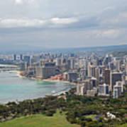 Wakiki Beach Hawaii Poster