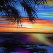 Wakulla Beach Morning Poster