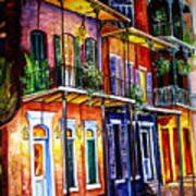 Walk Into The French Quarter Poster